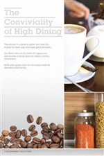 Enjoy the Conviviality of High Dining