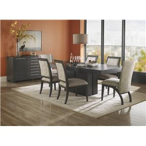 Canadel High Style - Custom Dining Contemporary Customizable Upholstered Side Chair