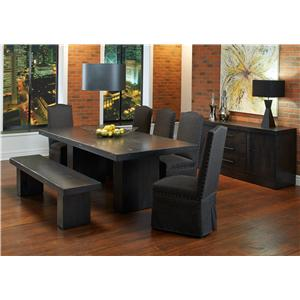 Canadel Loft - Custom Dining Casual Dining Room Group