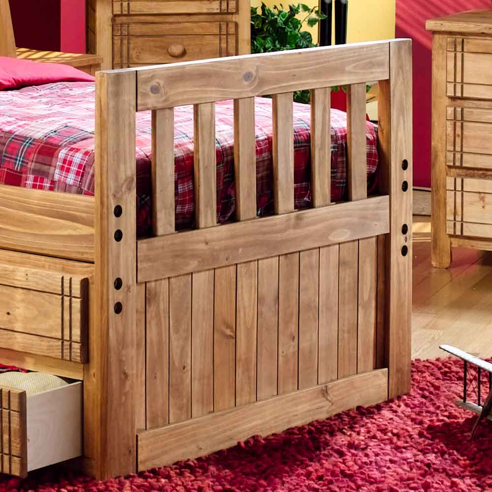 canyon arbor creek bunk bed with desk & storage combo