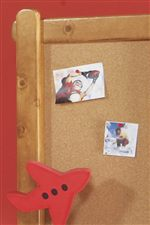Popsicle Stick Mirror Framing as well as Left Side Corkboard
