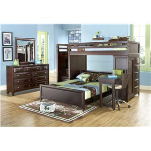Morris Home Furnishings Canton 2-Drawer Nightstand