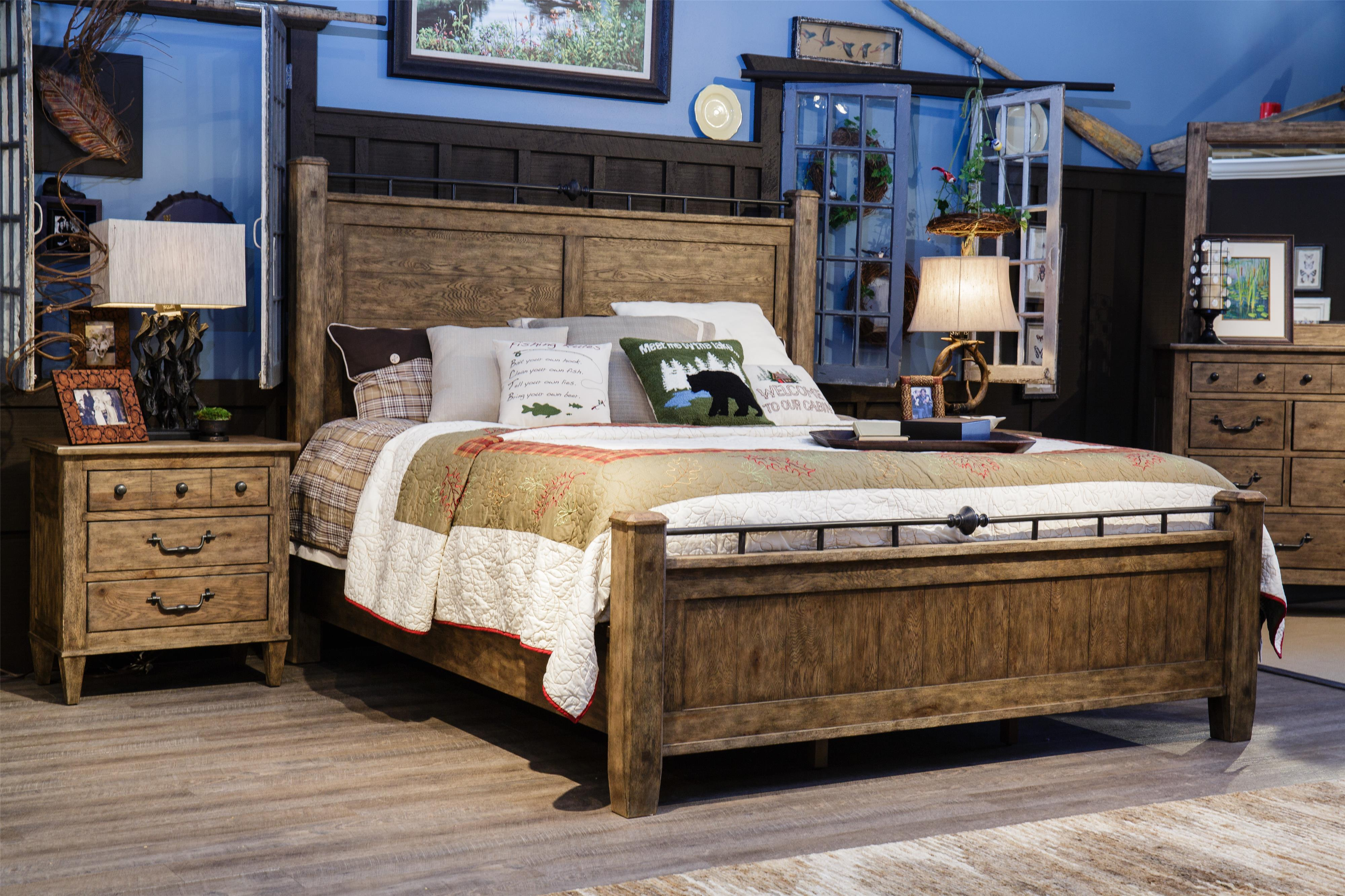 Carolina Preserves by Klaussner Riverbank 3 Drawer Night Stand ...