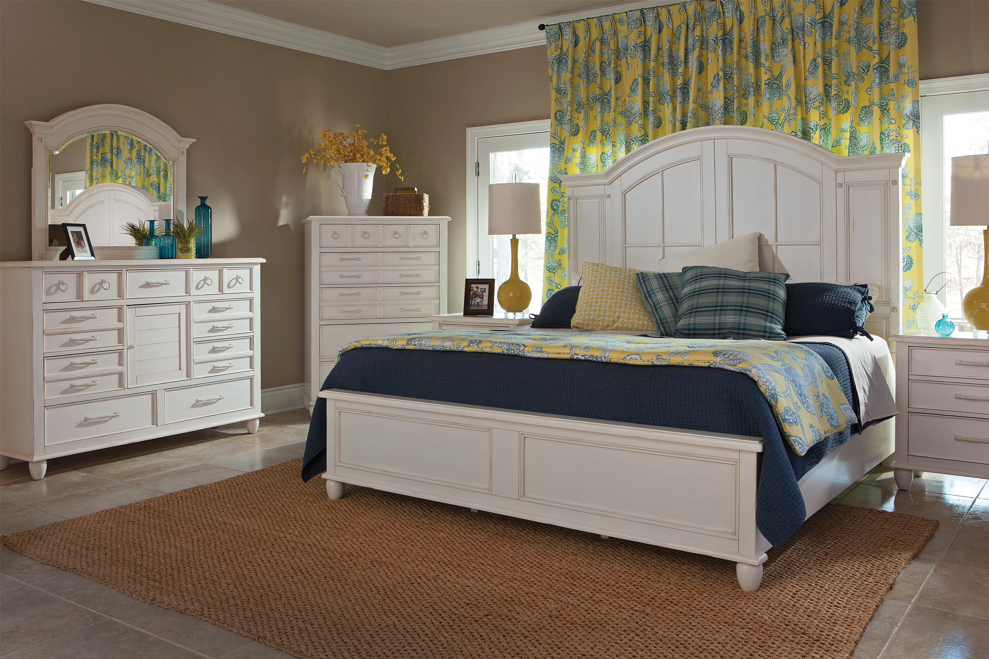 Easton Collection Sea Breeze King Bedroom Group - Item Number: 424 K Bedroom Group 1