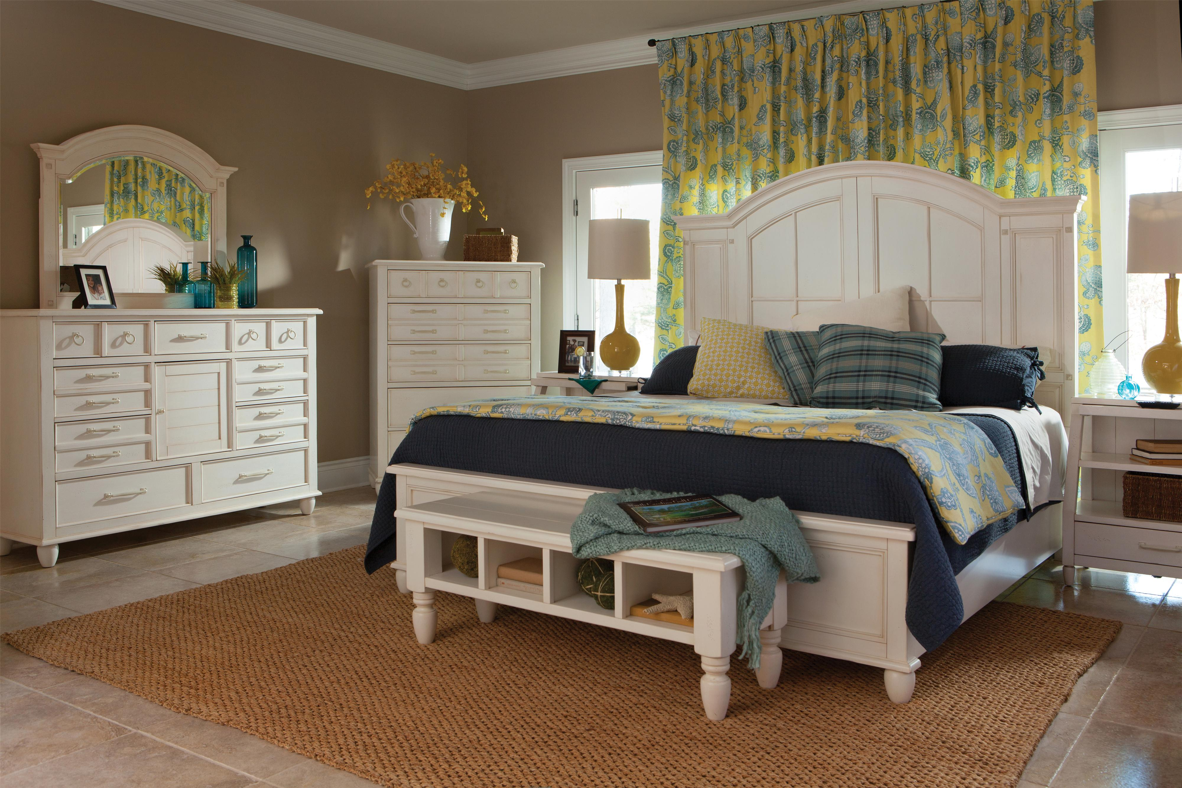 Carolina Preserves by Klaussner Sea Breeze Queen Bedroom Group - Item Number: 424 Q Bedroom Group 3
