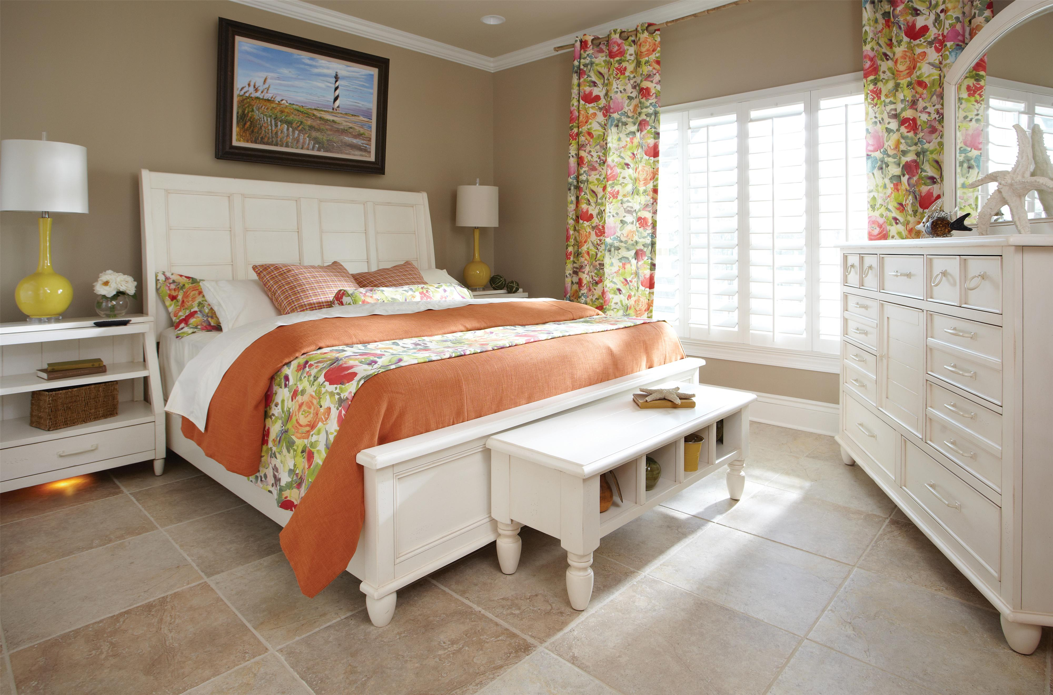 Easton Collection Sea Breeze Queen Bedroom Group - Item Number: 424 Q Bedroom Group 4