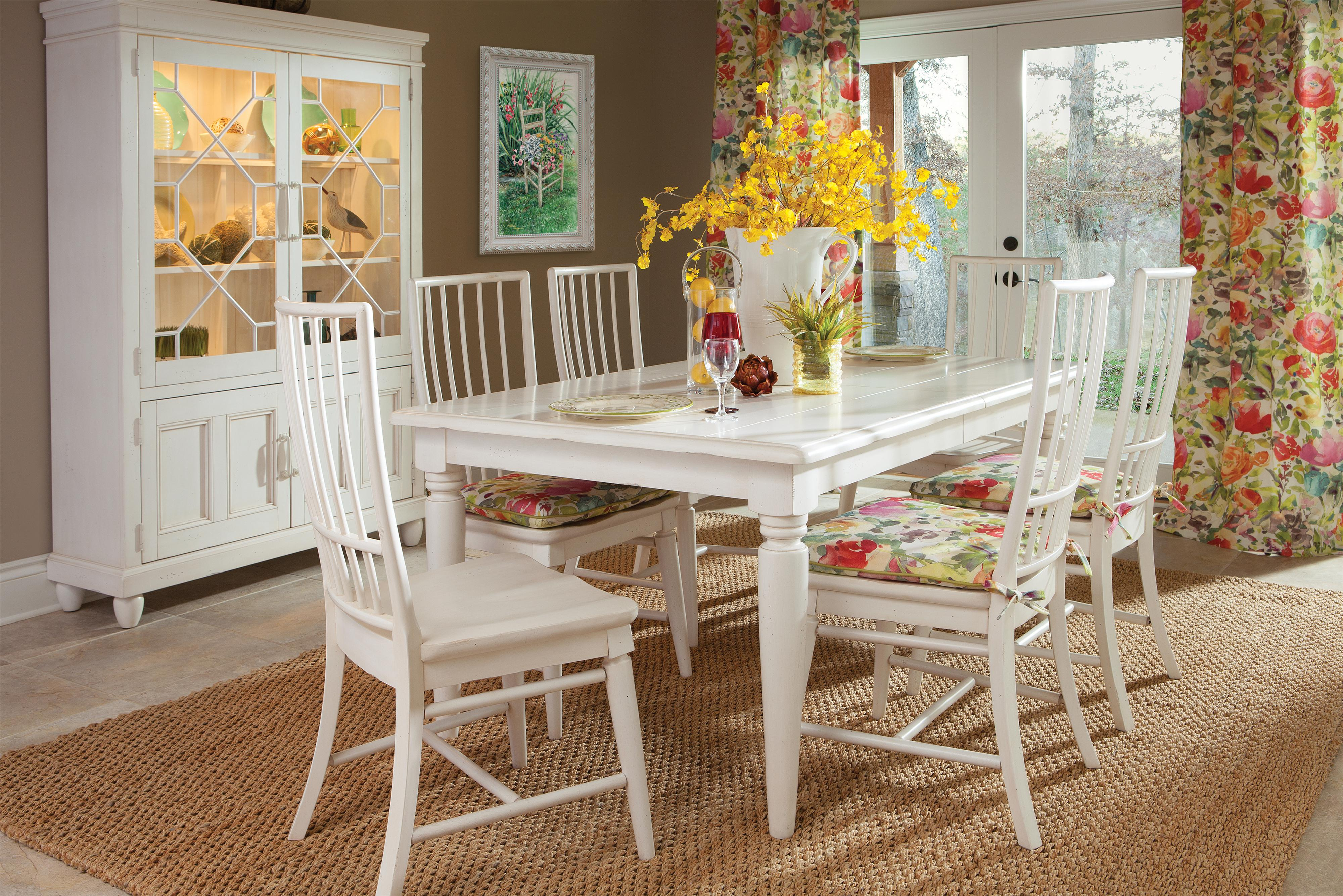 Easton Collection Sea Breeze Dining Room Group - Item Number: 424 Dining Room Group 1