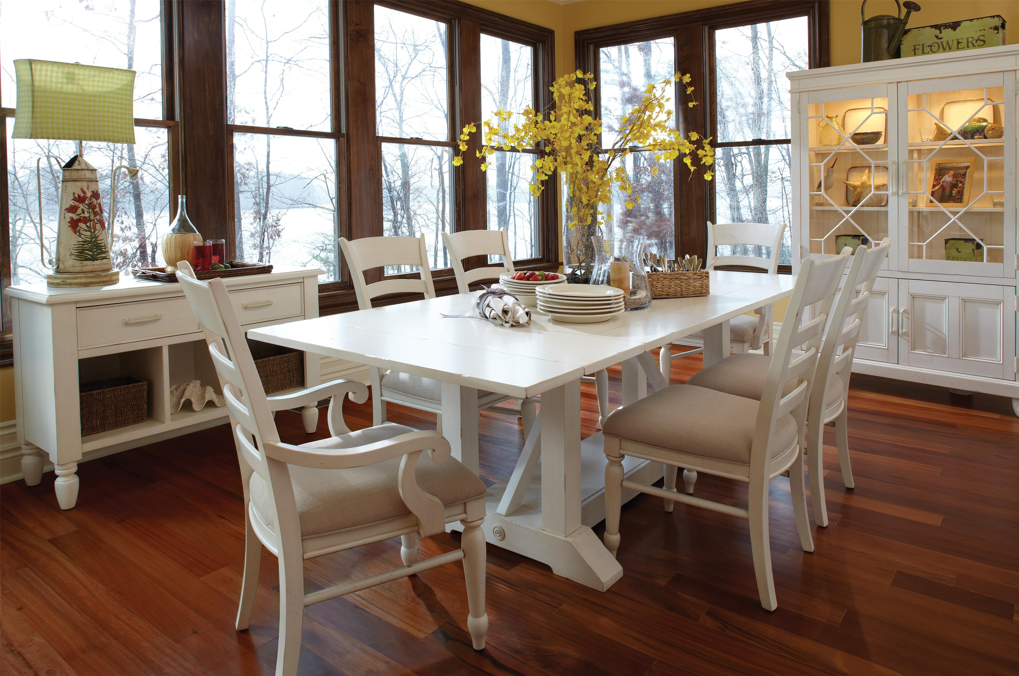 Easton Collection Sea Breeze Dining Room Group - Item Number: 424 Dining Room Group 4