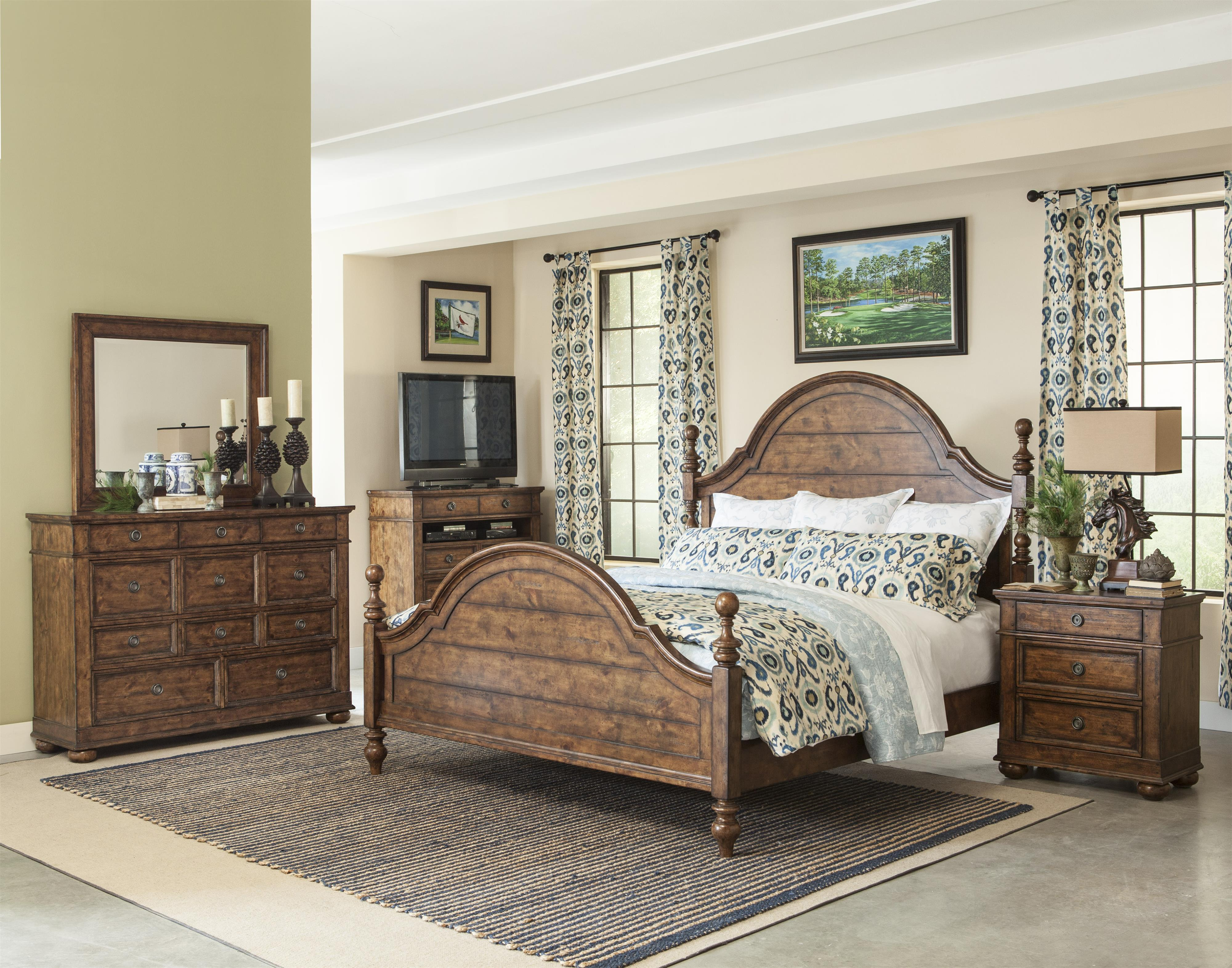Carolina Preserves by Klaussner Southern Pines 5 Drawer Chest Plus ...