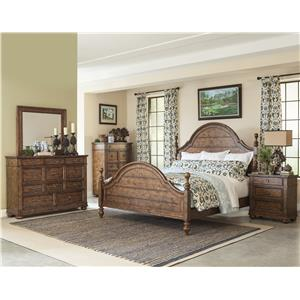 Carolina Preserves by Klaussner Southern Pines Queen Bedroom Group