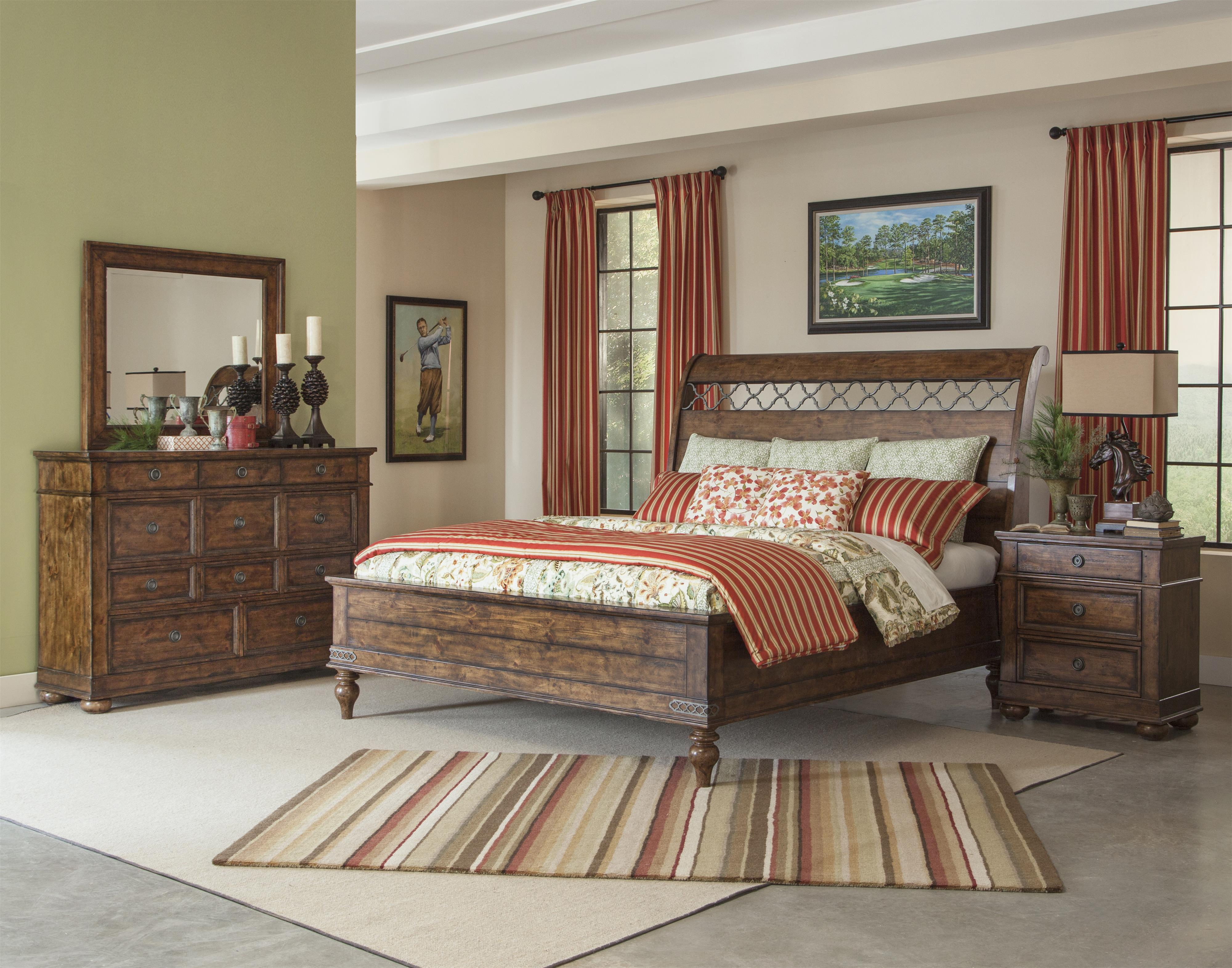 Klaussner Bedroom Furniture Carolina Preserves By Klaussner Southern Pines Dormie Round