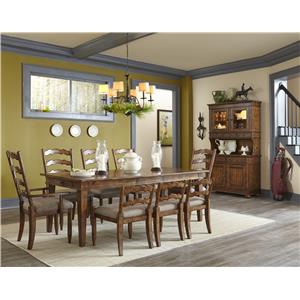 Carolina Preserves by Klaussner Southern Pines Formal Dining Room Group