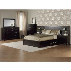 Morris Home Furnishings Midtown Queen Panel Platform Bed