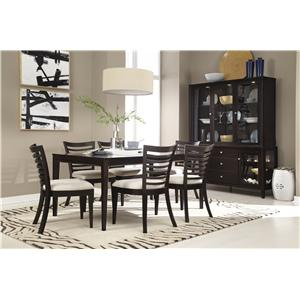 Belfort Select East Gate Casual Dining Room Group