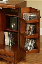 An Array of Storage Compartments Provide Endless Arrangement Options