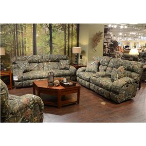 Catnapper Appalachian Reclining Living Room Group