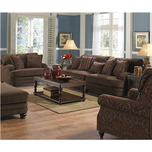 Jackson Furniture Brennan Stationary Living Room Group