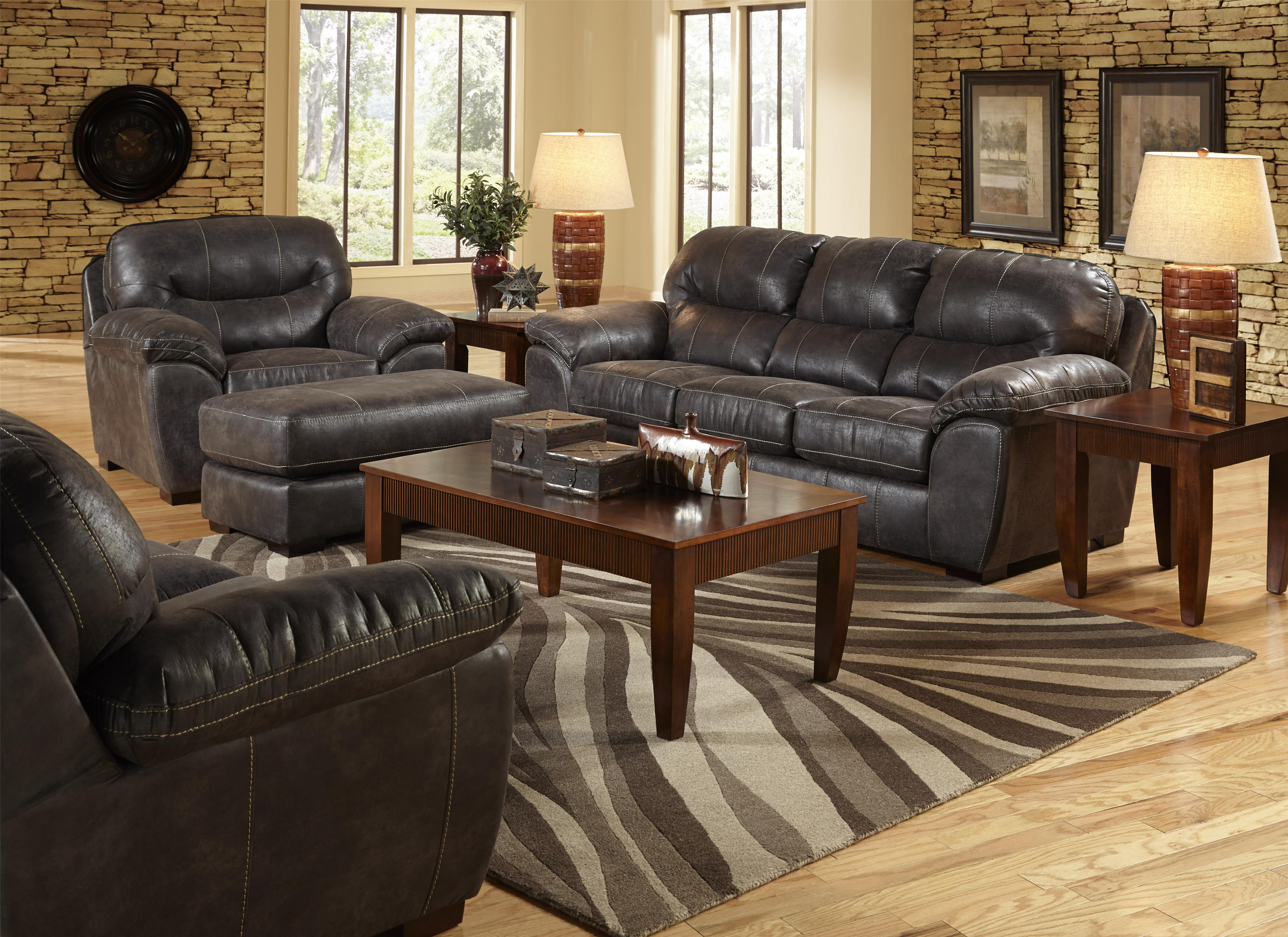 Bon Jackson Furniture Grant Ottoman For Living Rooms And Family Rooms | Wayside  Furniture | Ottomans