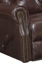 Catnapper Davidson Traditional Rocker Recliner with Nail Head Accent