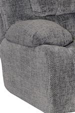 Catnapper Branson Power Lay Flat Recliner with Extended Ottoman