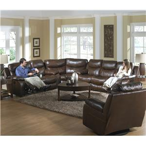 Catnapper Dallas  Reclining Sectional Sofa