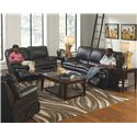 Catnapper Perez Reclining Living Room Group - Item Number: 414 Living Room Group 1
