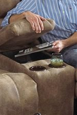 Love Seat Arm Console Storage