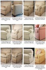 Century 2000 Eight Step Custom Customizable Wedge Sofa