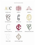 Make Your Mark with Assorted Initialed Monograms and Decorative Flourishes