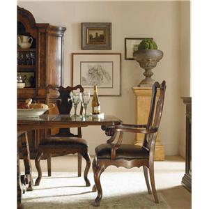 Century Marbella 661 Formal High End Amador Dining Table