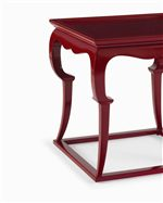End table detailed legs