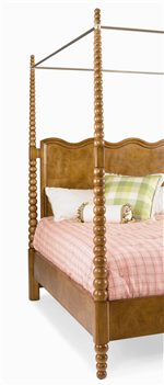 Canopy bed detailed bed posts