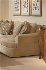 Rounded Corners and Loose Back Cushions