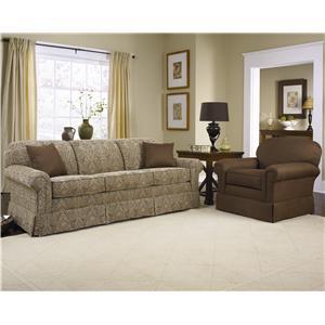Charles Schneider 1457 Traditional Stationary Sofa