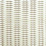White Round Weave