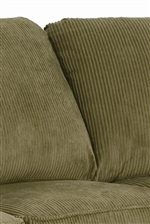 Plush High Semi-Attached Back Cushions