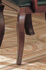 Elegantly Curved Cabriole Legs
