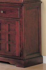 Grid Door Fronts Create Distinctive Style