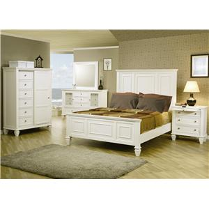 Coaster Sandy Beach 5 Drawer Chest