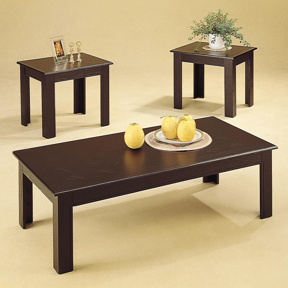 Astounding Occasional Table Sets 3 Piece Table Sets By Coaster Sam Machost Co Dining Chair Design Ideas Machostcouk