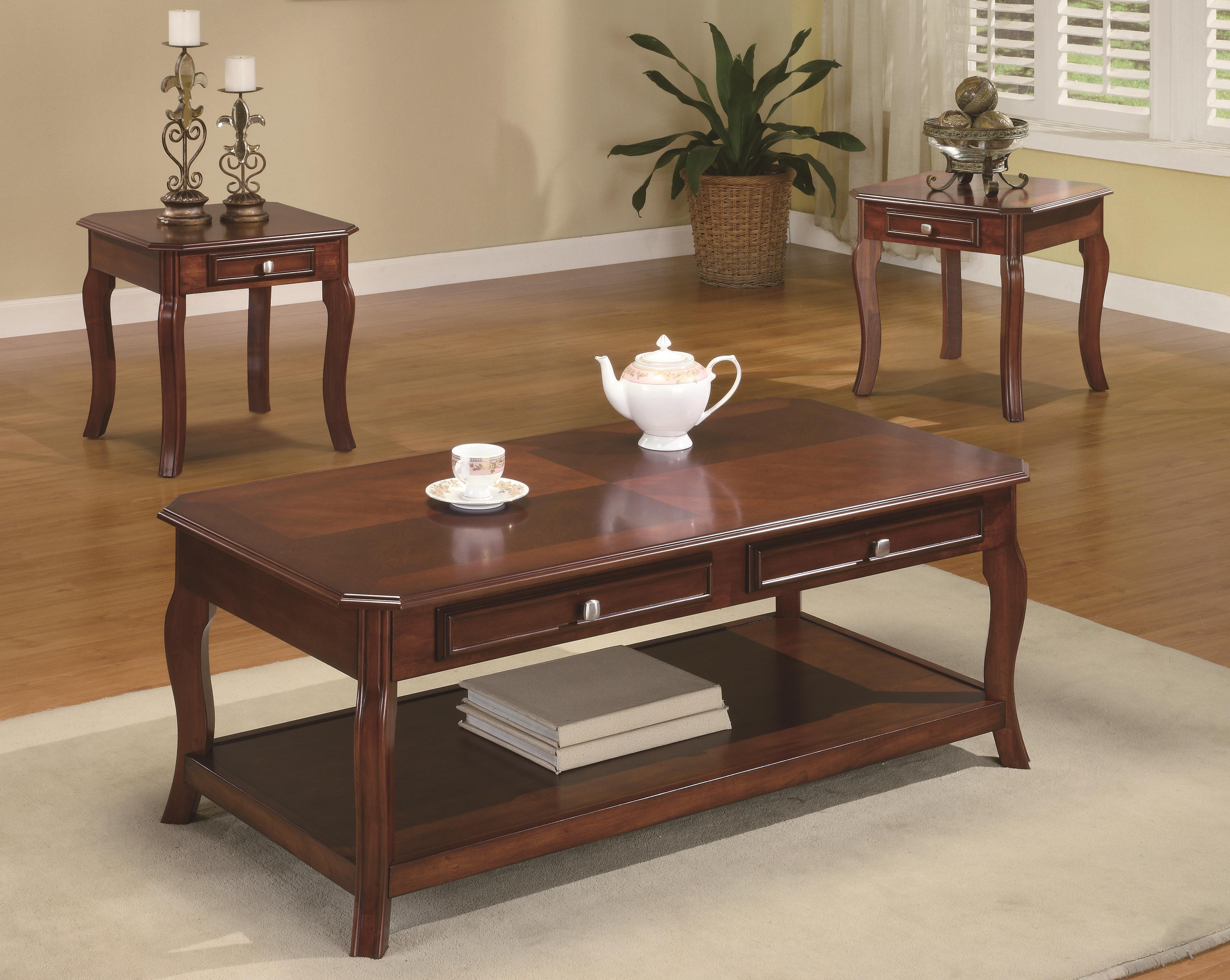 Occasional Table Sets 3 Piece Table Sets By Coaster Sam Levitz