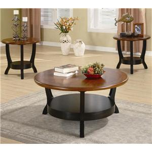Coaster Occasional Table Sets Modern Coffee Table and End Table Set