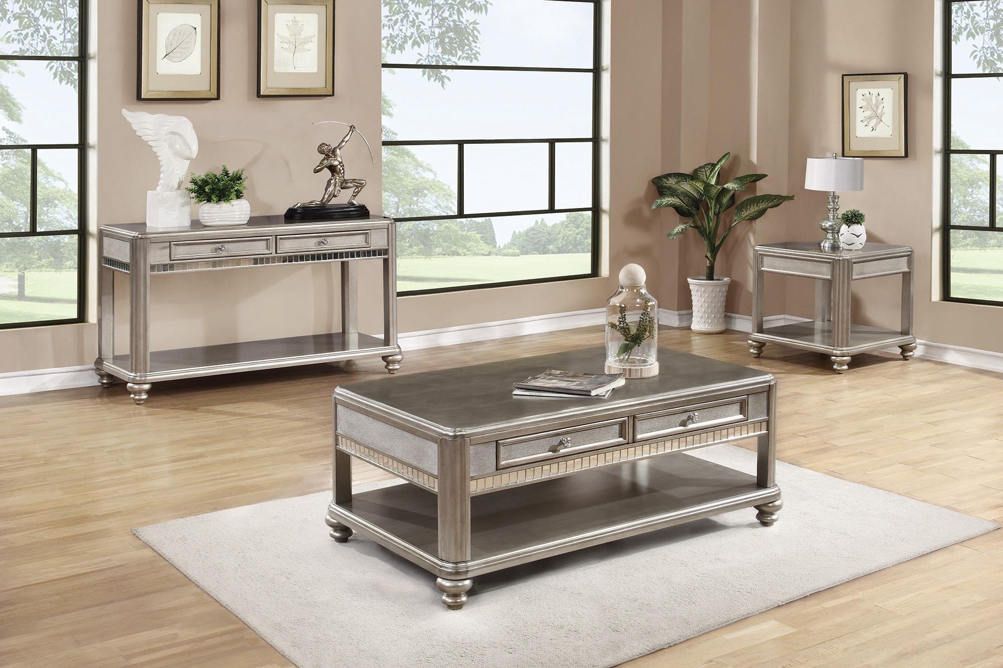 Coaster 70461 end table with shelf value city furniture end tables geotapseo Image collections