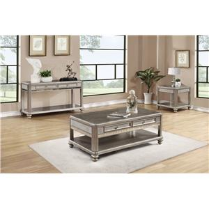 Coaster 70461 Sofa Table with 2 Drawers