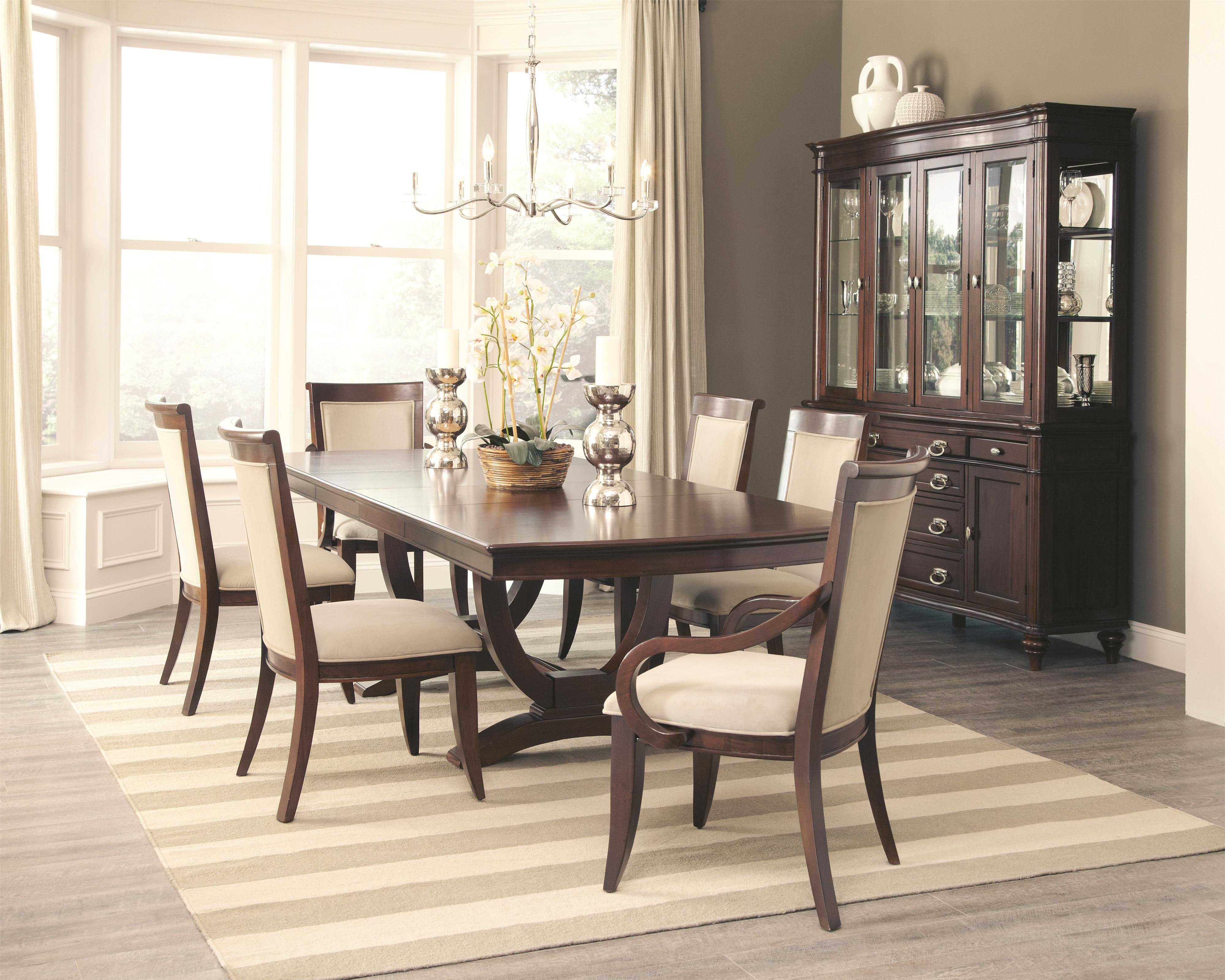 Coaster Alyssa Formal Dining Room Group - Item Number 10544 Dining Room Group 1 & Coaster Alyssa Formal Dining Room Group | Value City Furniture ...