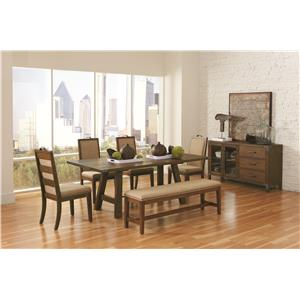 Coaster Arcadia Casual Dining Room Group