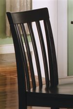 Classic Slatted Chair Back