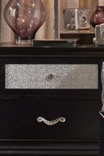 Metallic Acrylic Drawer Fronts