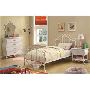 Coaster Bella Twin Bedroom Group