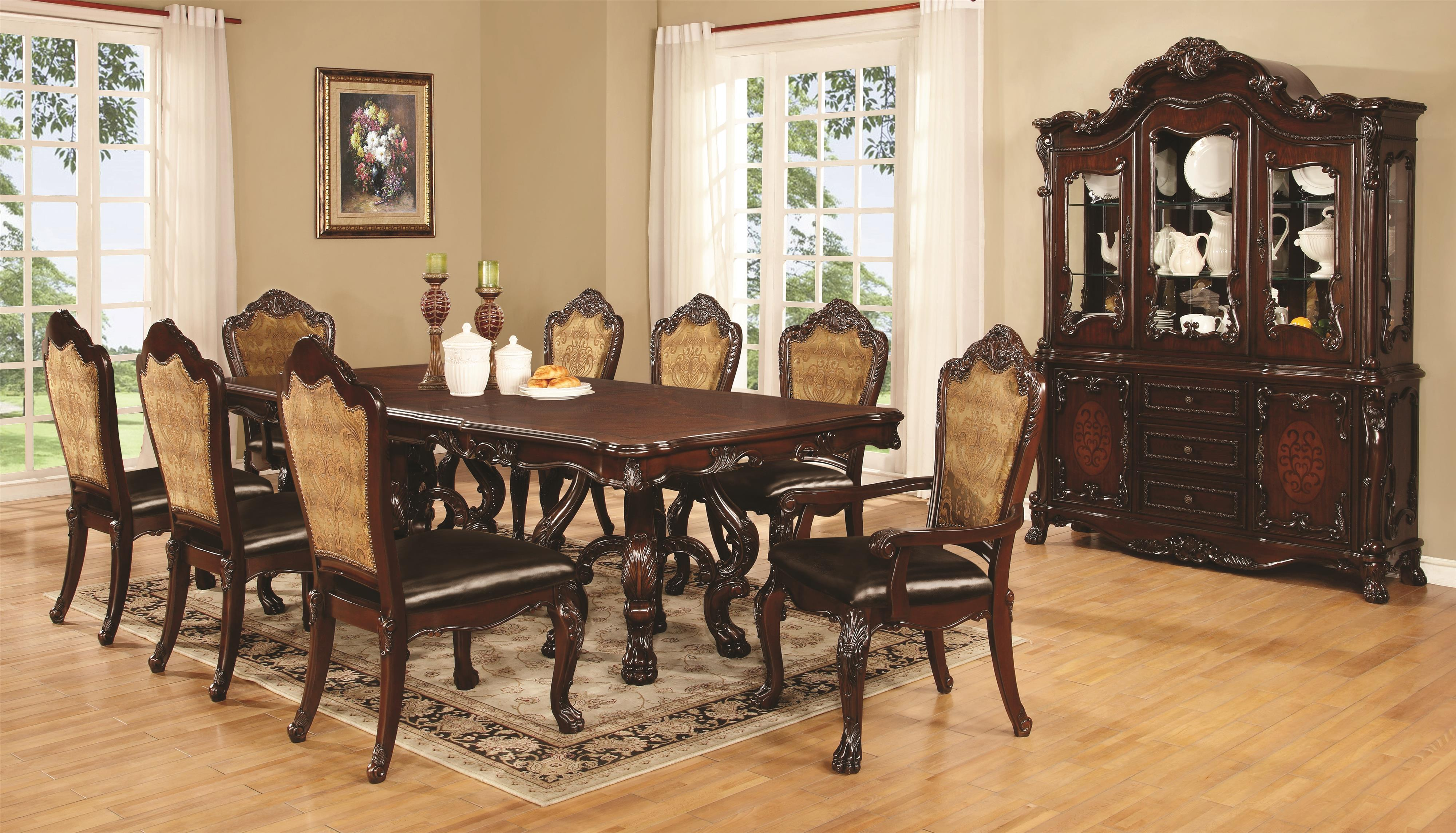 Coaster Benbrook Formal Dining Room Group - Item Number: 1055 Dining Room Group 2